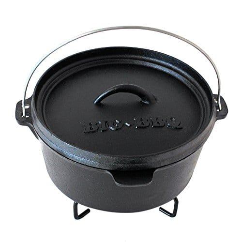 dutch oven kaufen big bbq dutch oven im test. Black Bedroom Furniture Sets. Home Design Ideas