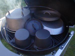 Dutch-Oven-einbrennen